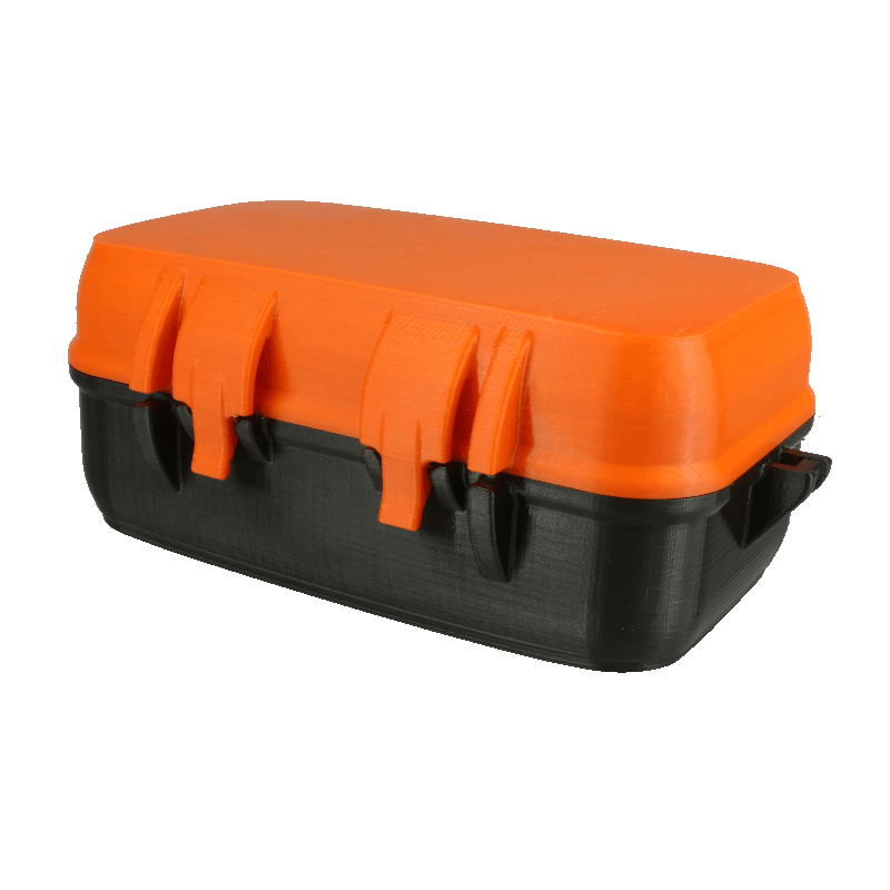 EASY-PET-G - Rugged Storage Box v2 by zx82net is licensed under the Creative Commons - Attribution - Non-Commercial - Share Alike license.