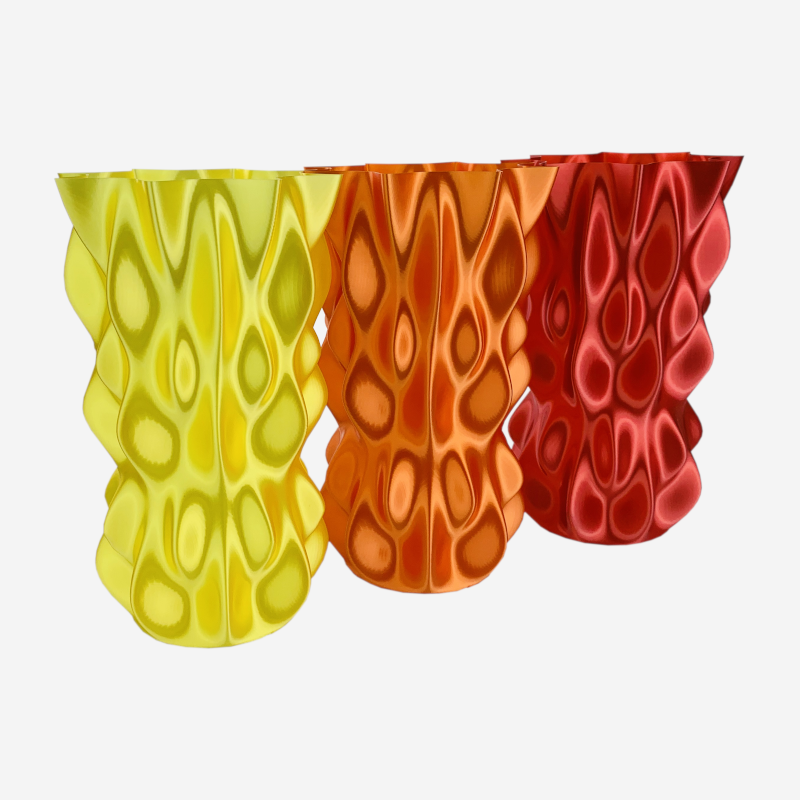 Lumpy bumpy vase by Martin John Hawkes is licensed under BY-NC-SA