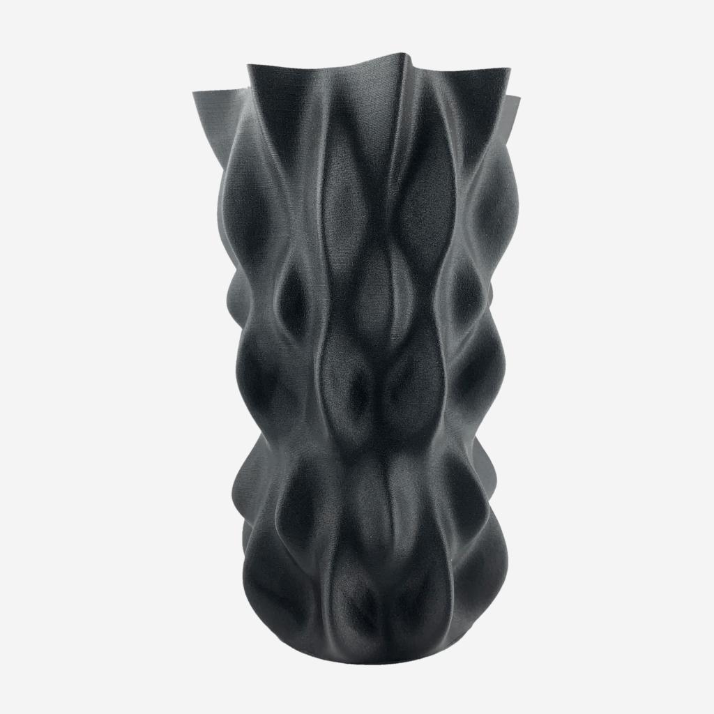 Fiberlogy_MattFlex_40D_Black - Print - LumpyBumpy - GrayBG-min
